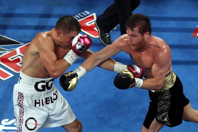Canelo Alvarez is reportedly willing to take on Gennadiy Golovkin again. (Photo by Omar Vega/Getty Images)