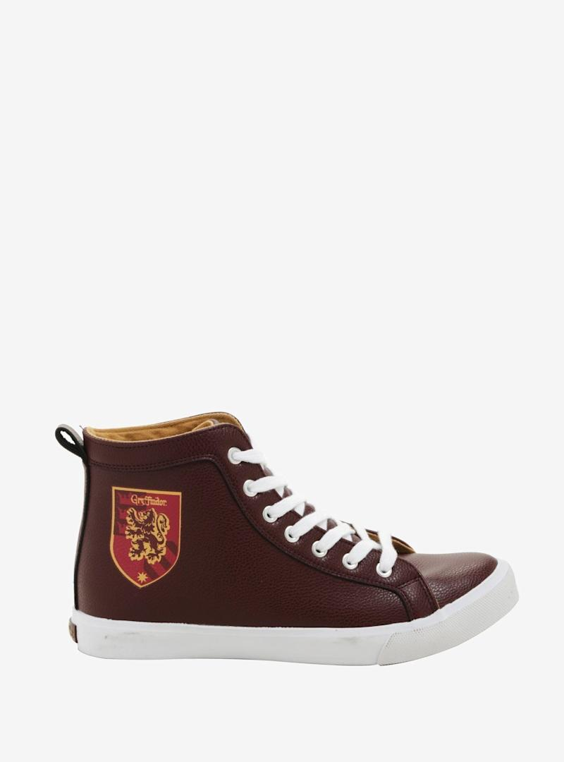 Harry Potter Gryffindor Hi-Top Sneakers (Photo: Hot Topic)