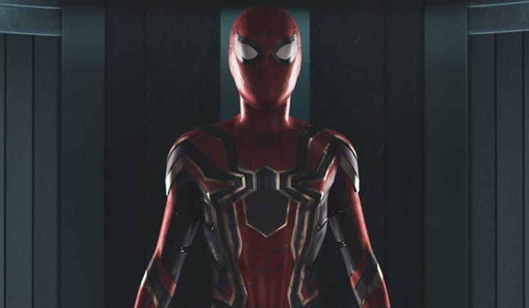Here's our best look at Spidey's new suit - Credit: Marvel
