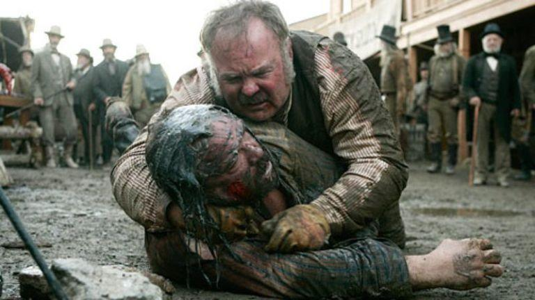 <p>They don't call it the Wild West for nuthin'. In one particularly brutal scene from the esteemed HBO series, enforcer Captain Joe Turner has his left eye torn out by muscleman Dan Dority.<span></span></p>