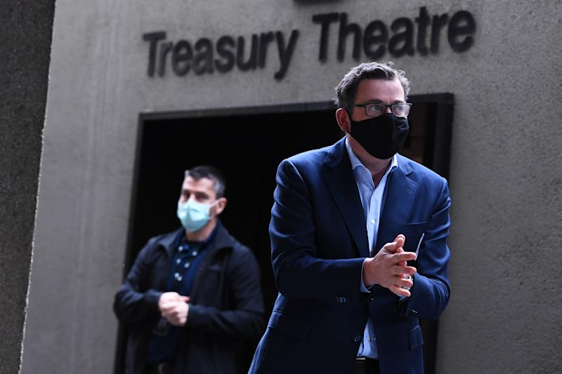 Victorian Premier Daniel Andrews is facing resistance over his State of Emergency proposal. Source: AAP
