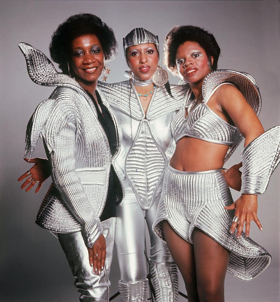 Labelle in 1975, from left: Patti LaBelle, Nona Hendryx and Sarah Dash.