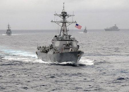 The US Navy guided-missile destroyer USS Lassen sails in the Pacific Ocean in a November 2009 photo provided by the U.S. Navy. REUTERS/US Navy/CPO John Hageman/Handout via Reuters