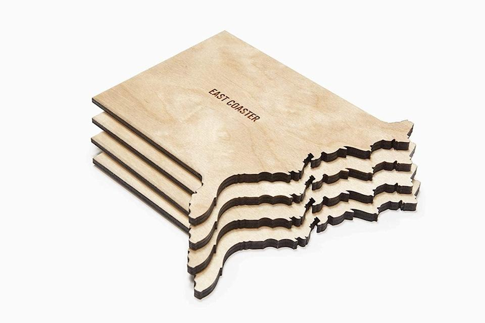 <p>We always get compliments on these <span>East Coaster Coasters</span> ($38). They make great gifts, too! </p>
