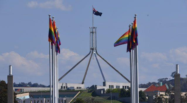 Mr Turnbull said a bill to legalise same sex marriage will go to the Houe of Representatives before Christmas. Photo AAP
