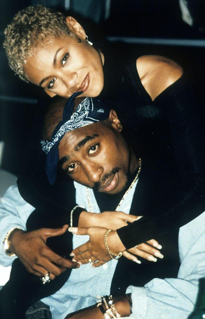 """<p>You might have heard a rumor or two about the relationship that existed between the late rap powerhouse Tupac Shakur and Jada Pinkett Smith, but did you know that the pair met for the first time while studying at Baltimore School for the Arts in Maryland? Pinkett Smith remembers their first encounter like it was yesterday, sharing the memory in an <a href=""""https://people.com/music/jada-pinkett-smith-tupac-shakur-friendship-details/"""" rel=""""nofollow noopener"""" target=""""_blank"""" data-ylk=""""slk:interview"""" class=""""link rapid-noclick-resp"""">interview</a>: """"It was the first day and he came over to me and introduced himself. And in high school, Pac was a little funny looking. Definitely from looking at him, wasn't necessarily the type of cat that I would even, like, deal with.""""</p><p>Despite her first impressions of her classmate, Pinkett Smith immediately hit it off with Tupac, and they bonded instantly. """"He was one of my best friends,"""" she spoke of the rapper fondly. """"He was like a brother.""""</p>"""