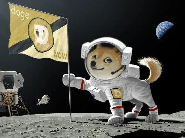 Elon Musk has frequently shared images and memes depicting dogecoin on Twitter (CC)