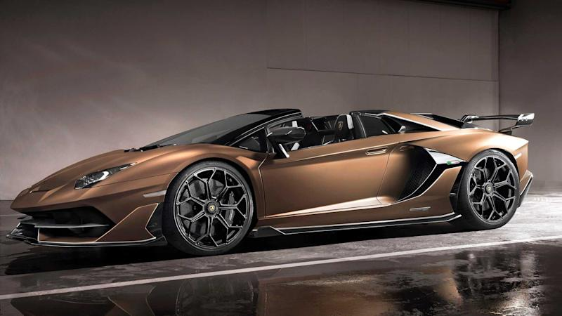 Lamborghini Aventador Svj Roadster Revealed In Geneva