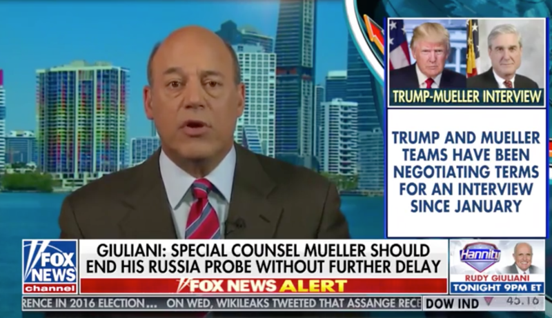 """My problem with Donald Trump sitting down is that Donald Trump talks in such loopy ways, and he's constantly contradicting himself and saying things,"" Ari Fleischer said."