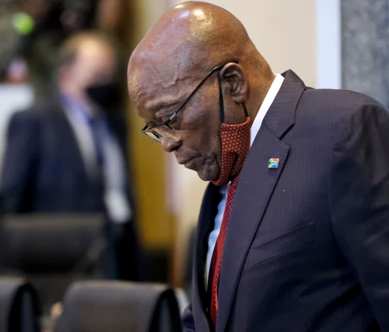 South Africa's former president Zuma to appear before commission of inquiry into state corruption