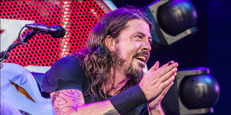 "Dave Grohl insists Foo Fighters aren't cool and play ""dad rock"""