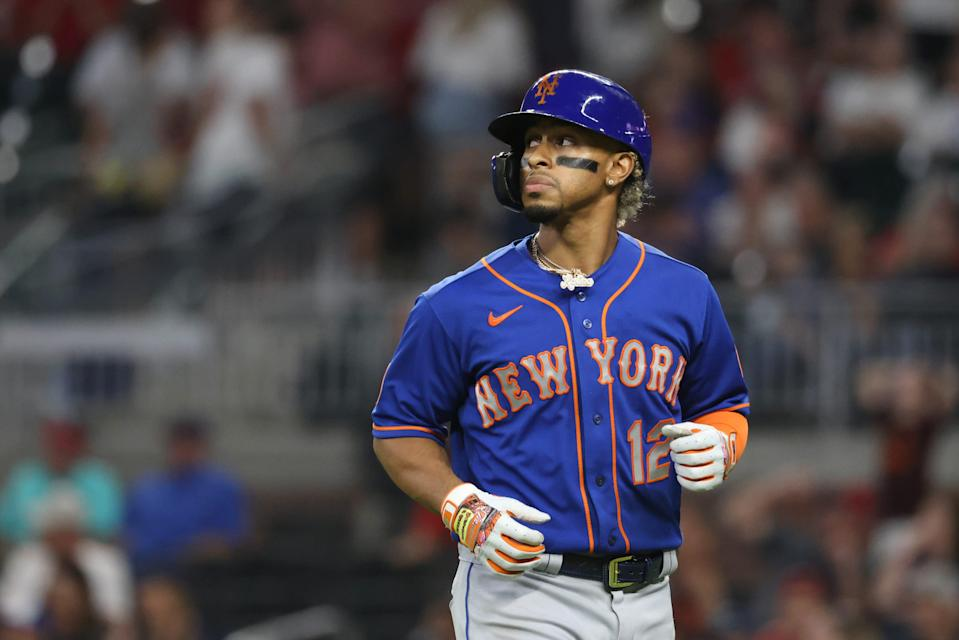 Shortstop Francisco Lindor had a .230 average and 20 home runs in his first season with the Mets.