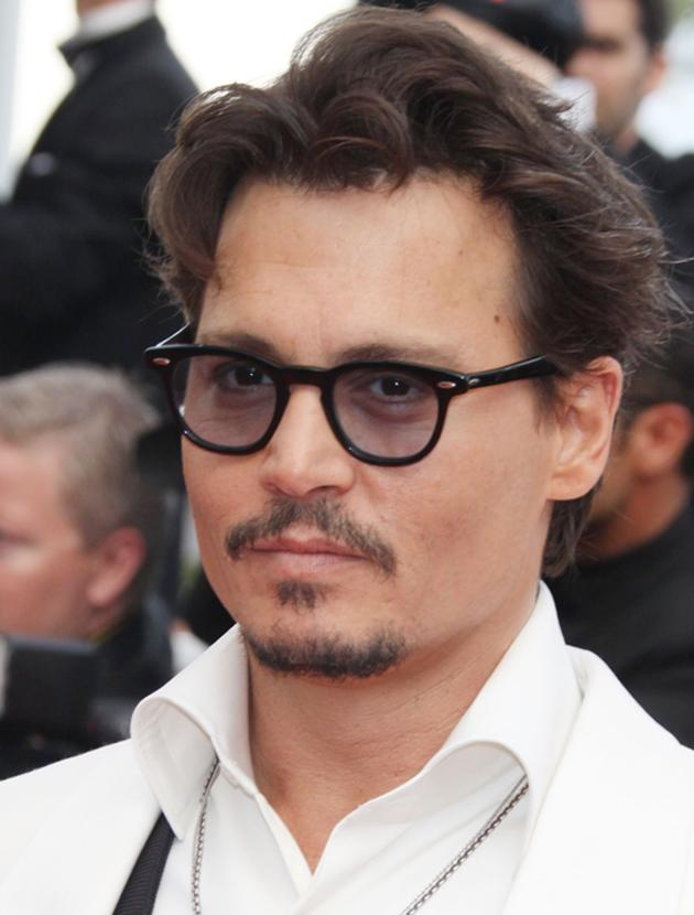 Johnny Depp photos: He looks white hot in this snap.