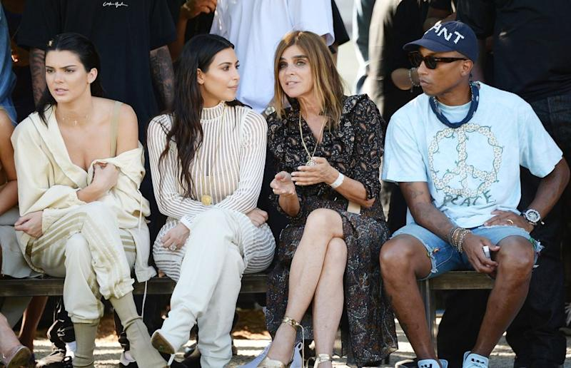 e1e0db9fcbf9f Kim Kardashian s Yeezy Modeling Portfolio  See Her Best Style Moments in  Support of Kanye West