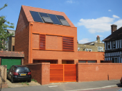<p>20 Ambleside Avenue, Streatham, by Pace Jefford Moore Architects. The smallest building on the shortlist, it has been constructed to the low energy Passivhaus standard. </p>