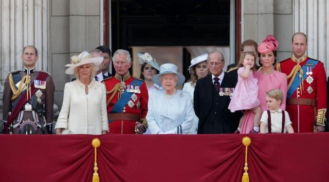 Trooping the Colour parade
