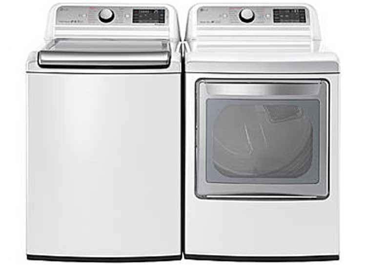 LG WT7600HWA HE Top Loader And LG DLEX7600WE Electric Dryer. Price: $800  Each. Hereu0027s The Deal: The Washeru0027s Claimed Capacity Is 5.2 Cubic Feet, ...