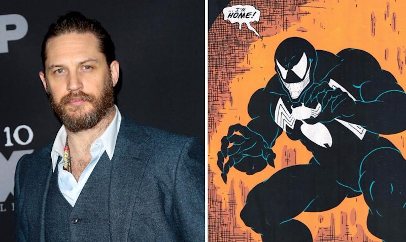 Tom Hardy is the new Venom (Credit: WENN/Marvel Comics)