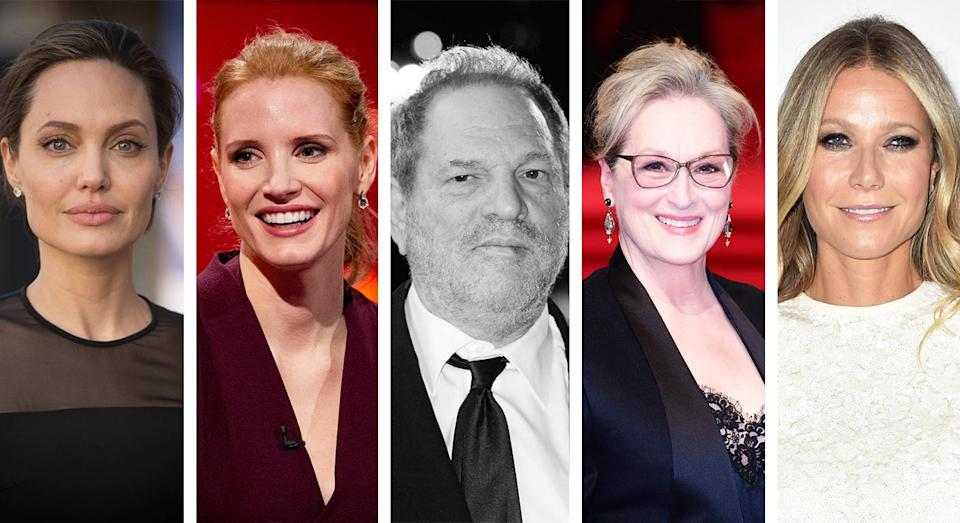 Are we laying the blame at the wrong door with regards to the Harvey Weinstein scandal? [Photo: PA/Getty/Yahoo Style]