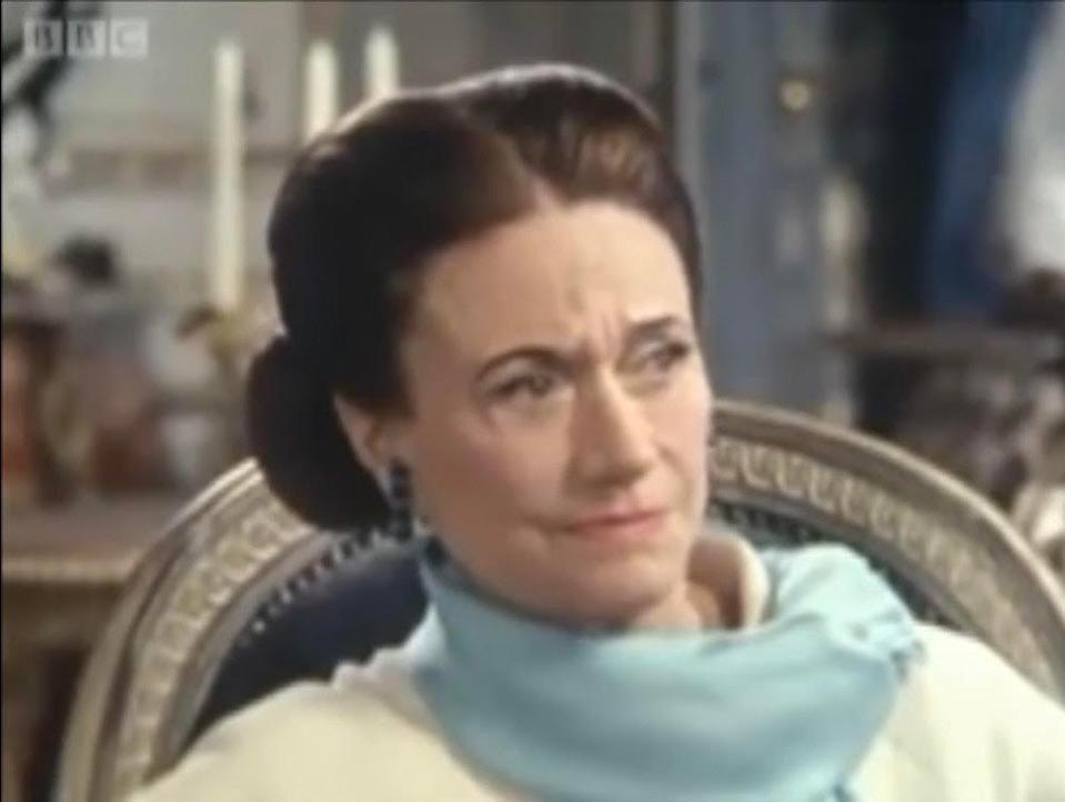 The Duchess of Windsor, pictured in the BBC interview aired in 1970, in which she said she wanted to be a business womanBBC