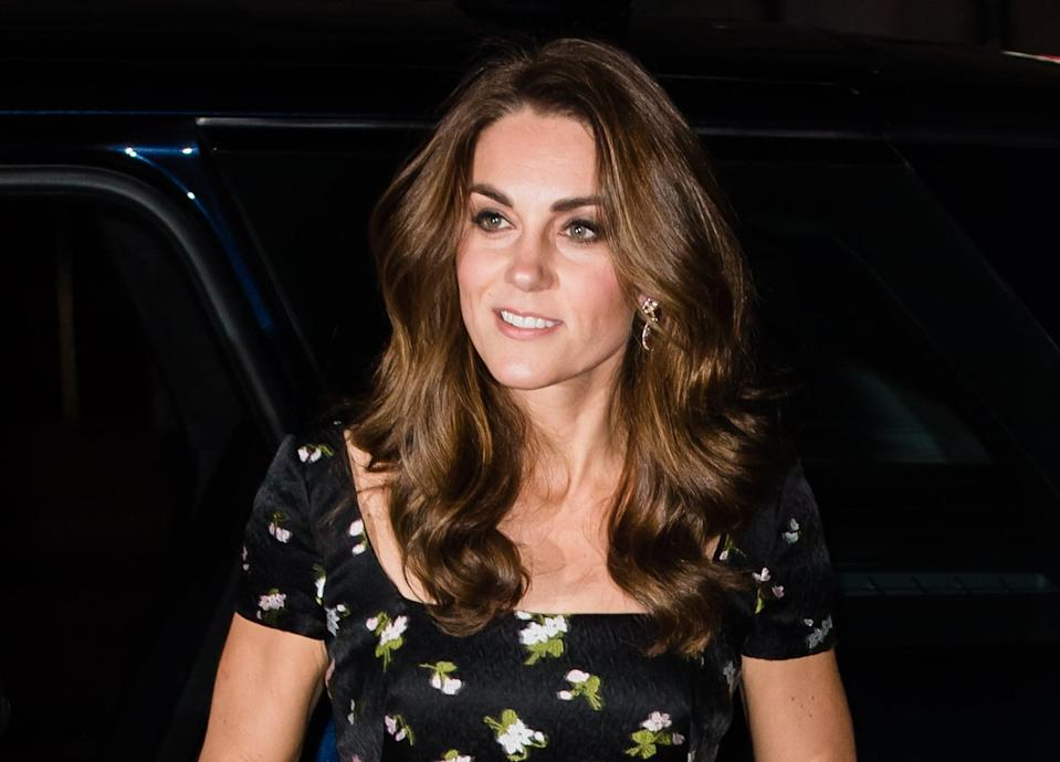 <p>For a visit to the National Portrait Gallery in London, Middleton wore her classic bouncy blowout, proving that not only does it never go out of style, but that it never gets less, well, bouncy. </p>