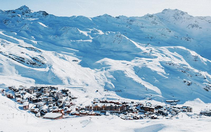 Val Thorens sits at a loft altitude of 2,300m - DAVID ANDRE