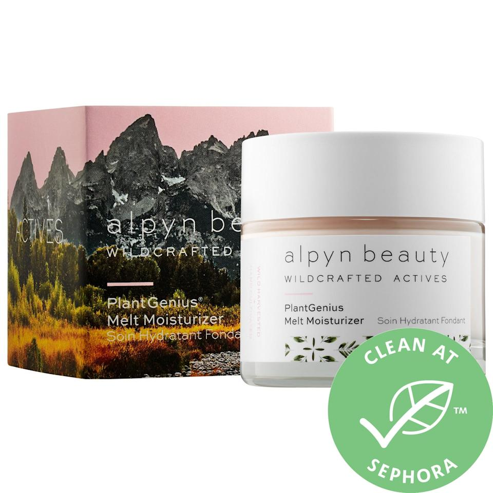 """<p>The <a href=""""https://www.popsugar.com/buy/Alpyn-Beauty-PlantGenius-Melt-Moisturizer-Bakuchiol-583728?p_name=Alpyn%20Beauty%20PlantGenius%20Melt%20Moisturizer%20With%20Bakuchiol&retailer=sephora.com&pid=583728&price=60&evar1=bella%3Aus&evar9=47564646&evar98=https%3A%2F%2Fwww.popsugar.com%2Fphoto-gallery%2F47564646%2Fimage%2F47564649%2FAlpyn-Beauty-PlantGenius-Melt-Moisturizer-With-Bakuchiol&list1=sephora%2Cskin%20care&prop13=api&pdata=1"""" class=""""link rapid-noclick-resp"""" rel=""""nofollow noopener"""" target=""""_blank"""" data-ylk=""""slk:Alpyn Beauty PlantGenius Melt Moisturizer With Bakuchiol"""">Alpyn Beauty PlantGenius Melt Moisturizer With Bakuchiol</a> ($60) also features that natural line-fighting retinol alternative but adds in a bunch of hydrating ingredients including squalane, hyaluronic acid, and ceramides.</p> <p>I like this cream's lightweight, whipped texture and that there's no greasy or heavy feeling afterward. It's a nice final step after applying the serum in the evening, and it seemingly melts into my skin. (Plus, there's an average 4.6-star rating from other shoppers, several raving about how soft their faces feel afterward, too.)</p> <p><em>Love all things beauty? Can't get enough products? Come join our Facebook Group <a href=""""https://www.facebook.com/groups/389401751481325/"""" class=""""link rapid-noclick-resp"""" rel=""""nofollow noopener"""" target=""""_blank"""" data-ylk=""""slk:Real Reviews With POPSUGAR Beauty""""><span class=""""s1"""">Real Reviews With POPSUGAR Beauty</span></a>. There are lots of fun conversations happening there, as well as all the product recommendations you could ask for - not just from us but also community members.</em></p>"""