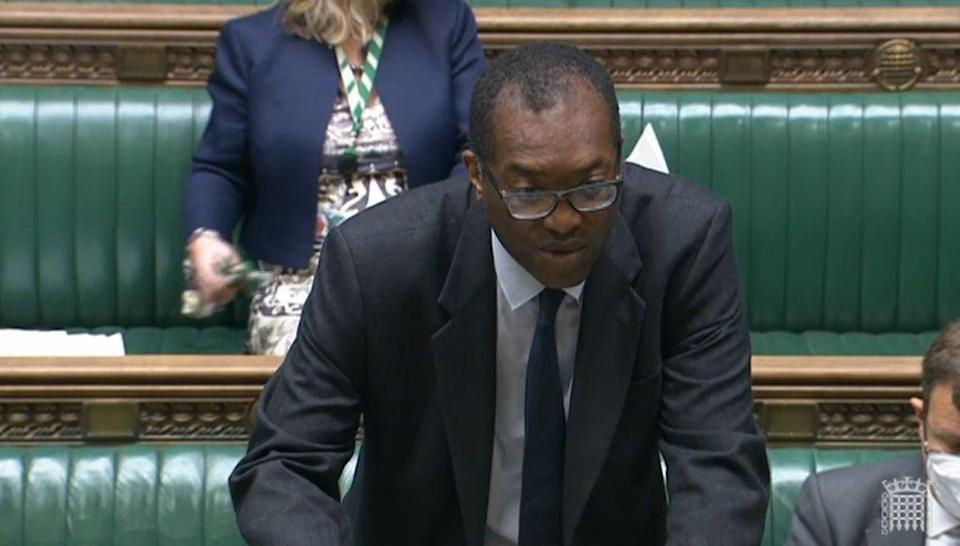 Business Secretary Kwasi Kwarteng has been accused of not sufficiently responding to energy suppliers' pleas for support (House of Commons/PA) (PA Wire)