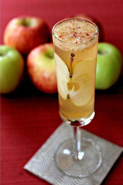 """<p>Arguably the best use for apples yet.</p><p>Get the recipe from <a href=""""http://www.thecookierookie.com/apple-cider-mimosas/"""" rel=""""nofollow noopener"""" target=""""_blank"""" data-ylk=""""slk:Food Fanatic"""" class=""""link rapid-noclick-resp"""">Food Fanatic</a>.</p>"""