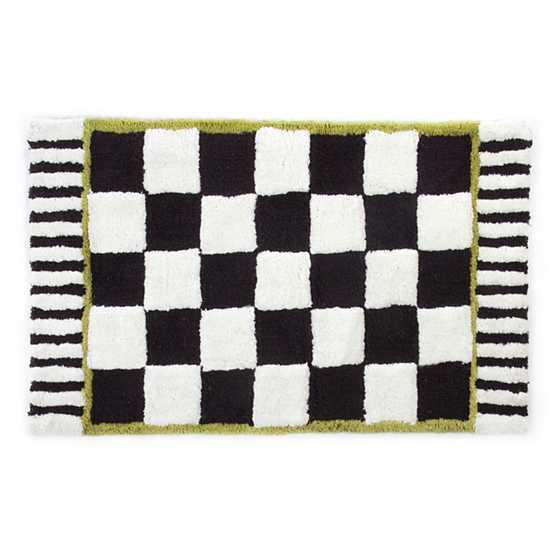 "<h2>Mackenzie-Childs Courtly Check Bath Rug</h2><br>Another bath-mat showstopper that we wouldn't mind showing off everywhere from our kitchens to our entryways. <br><br><em>Shop</em> <strong><em><a href=""https://www.mackenzie-childs.com/courtly-check-bath-rug---standard/347-040.html"" rel=""nofollow noopener"" target=""_blank"" data-ylk=""slk:Mackenzie-Childs"" class=""link rapid-noclick-resp"">Mackenzie-Childs</a></em></strong><br><br><strong>MacKenzie-Childs</strong> Courtly Check Bath Rug, $, available at <a href=""https://go.skimresources.com/?id=30283X879131&url=https%3A%2F%2Fwww.mackenzie-childs.com%2Fcourtly-check-bath-rug---standard%2F347-040.html"" rel=""nofollow noopener"" target=""_blank"" data-ylk=""slk:MacKenzie-Childs"" class=""link rapid-noclick-resp"">MacKenzie-Childs</a>"
