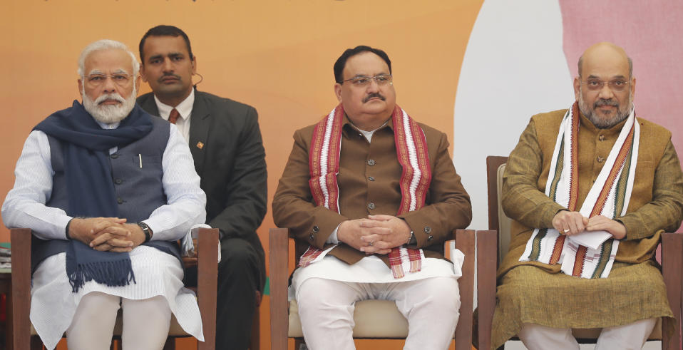 Cong stance on Article 370 is helping Pak: Nadda tells election rally in Bihar