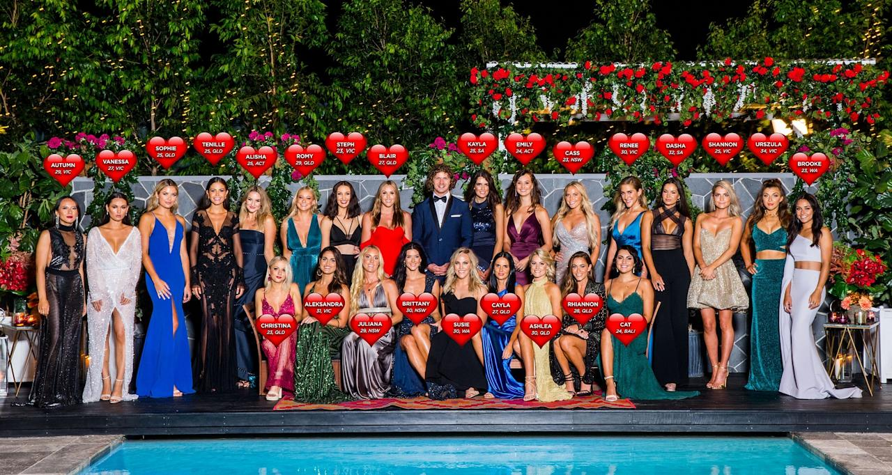 """<p>Ranging in age from 23 to 34 and hailing from all over the country, this year's Bachelorettes are a diverse group of women with one thing in common: a passion to find """"the one"""".<br />Among the ladies is flight attendant Tenille, """"energy healer"""" Cayla and political adviser Alisha. <br />Source: Ten </p>"""