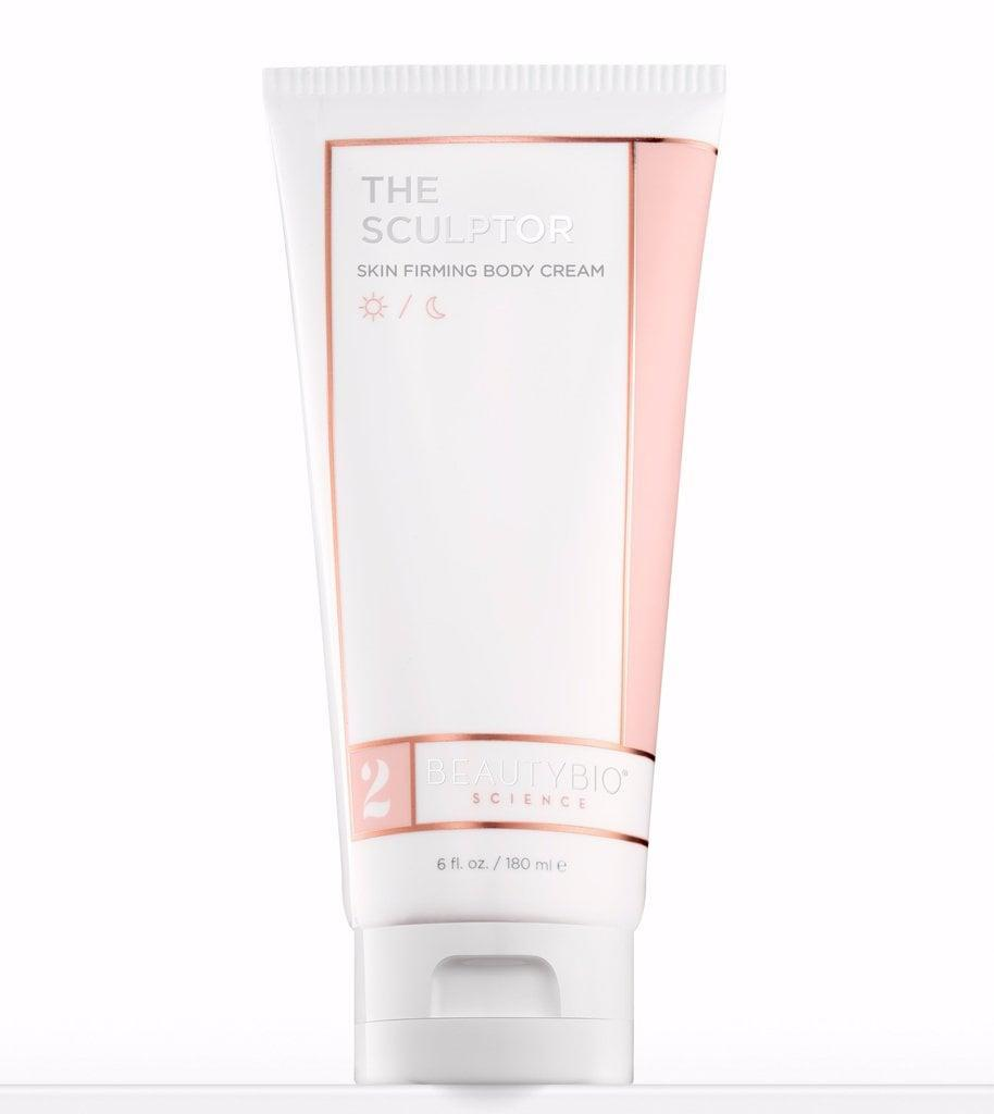 <p>Unlike many of the other lotions on our list, the <span>BeautyBio Science Sculptor Body Cream</span> ($60) is thick. It doesn't absorb particularly fast, but once it does, it provides a decent layer of moisture that lasts. I notice a big difference specifically on my legs after shaving, which, for me, makes it worth the extra absorption time. It also isn't heavily scented, more of a subtle, clean scent, and doesn't irritate my skin. Despite the product name, I don't use it in hopes that it sculpts or firms, I simply use it as an intense hydration for my body.</p>