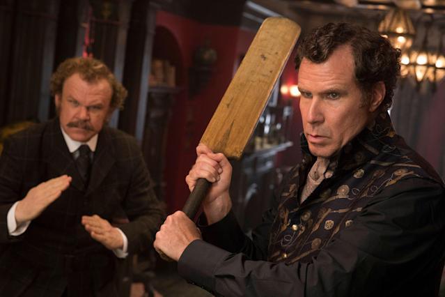 Will Ferrell and John C Reilly channel Mel Brooks in <em>Holmes and Watson</em> (Sony Pictures)