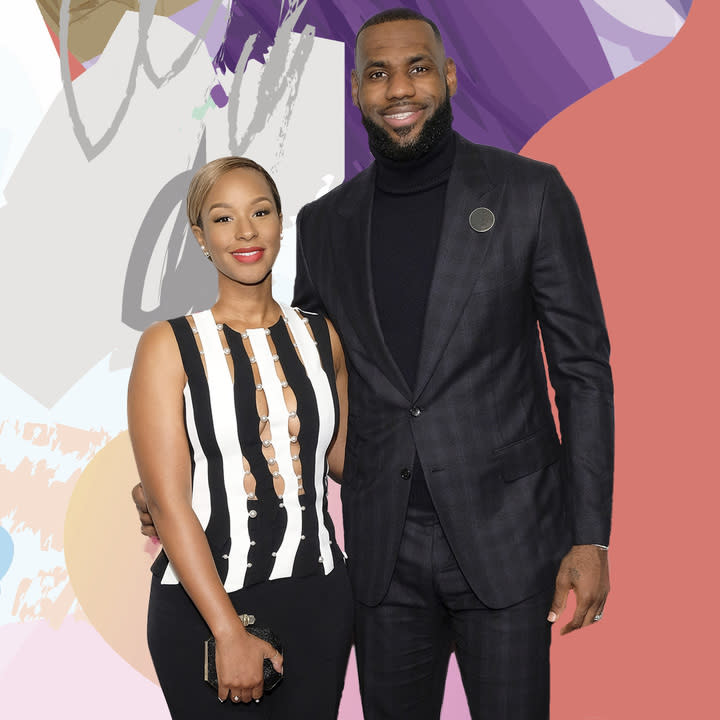 3991a07fd LeBron James  Wife Savannah Gushes About His Love For Her In Rare Interview