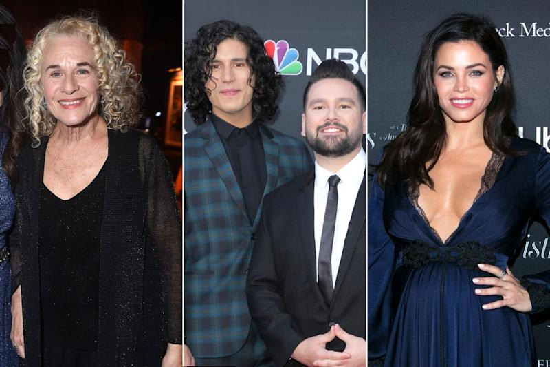 Carole King, Dan + Shay and Jenna Dewan | Jordan Strauss/January Images/Shutterstock; Chelsea Lauren/Shutterstock; Gabriel Olsen/Getty Images