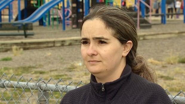 Nina Shah says she is feeling confident that the right protocols are in place to keep her child safe at school this year.  (Mike Symington/CBC - image credit)