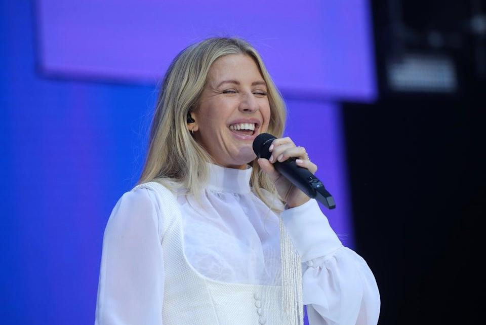 Ellie Goulding urged people to get involved (Isabel Infantes/PA) (PA Archive)