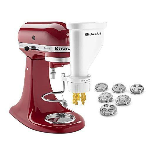 """<p><strong>KitchenAid</strong></p><p>amazon.com</p><p><strong>$129.95</strong></p><p><a href=""""https://www.amazon.com/dp/B01ENK4UV2?tag=syn-yahoo-20&ascsubtag=%5Bartid%7C10050.g.35997285%5Bsrc%7Cyahoo-us"""" rel=""""nofollow noopener"""" target=""""_blank"""" data-ylk=""""slk:SHOP NOW"""" class=""""link rapid-noclick-resp"""">SHOP NOW</a></p><p>Since you can't go to Italy and have a major <em>Eat, Pray, Love</em>, you might as well make some pasta from scratch. Might? As? Well?</p>"""
