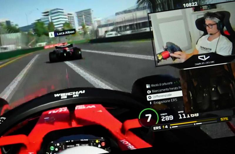 Ferrari's Charles Leclerc, has kept his hand in during lockdown by competing in a number of virtual Grand Prix and winning two of the races.