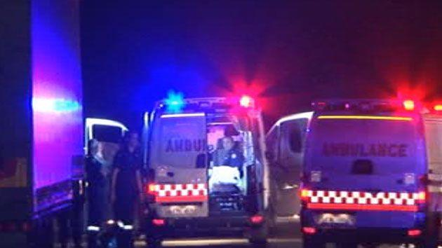 The teenage boy died at the scene before paramedics and police arrived. Photo: 7 News
