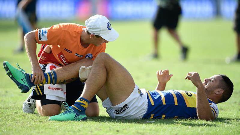 Jarryd Hayne is on the injury list for the Parramatta Eels. Pic: Getty