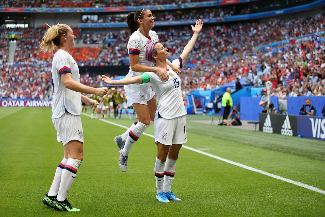 """The U.S. Women's National Soccer Team staked their claim as the best professional women's soccer team in the world, after their <a href=""""https://people.com/sports/world-cup-2019-final-winner-us/"""">Women's World Cup win</a> in 2019. The victory marked America's fourth championship, following their previous World Cup win in 2015.  Their elite status not only proved that they were No. 1, it helped amplify their fight for equal pay when they decided to <a href=""""https://people.com/sports/how-us-womens-soccer-team-strength-equal-pay-fight/"""">sue the U.S. Soccer Federation</a> over pay inequality with male players. The case is set to be heard in May 2020, three months before the <a href=""""https://people.com/tag/summer-olympics/"""">Summer Olympic Games in Tokyo</a>."""