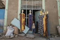 Wukro's shop owners are still trying to scrape a living from what is left after shelling and looting
