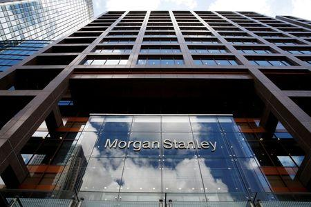 FILE PHOTO: Morgan Stanley London headquarters at Canary Wharf financial centre