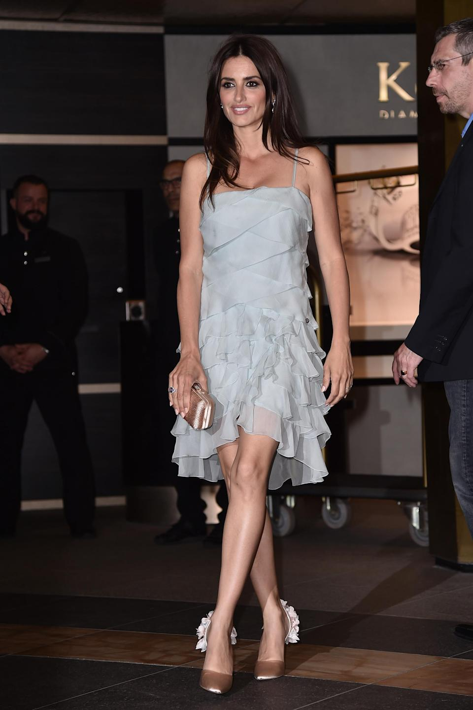 <p>At the Chanel And The Vanity Fair France Party, Penelope rocked yet another glorious Chanel number. We think the actress might be winning in the Cannes outfit change race this year. <br><em>[Photo: Getty]</em> </p>