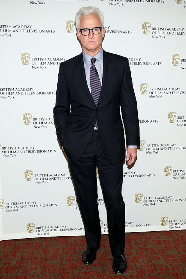 "John Slattery attends BAFTA New York Celebrates ""Mad Men"" at The Harvard Club on April 22, 2013 in New York City."