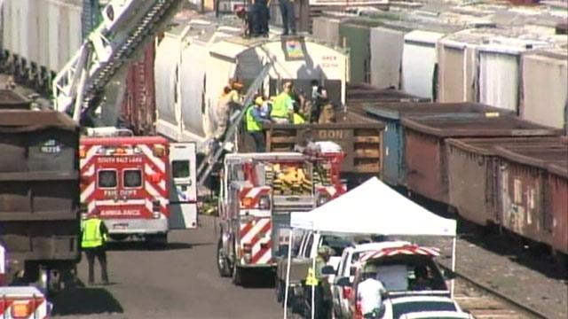 Homeless Man Loses Leg in Freight Car Fright