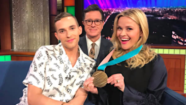 Adam Rippon Meeting Reese Witherspoon Is Better Than Olympic Glory