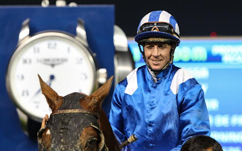 Jim Crowley is enjoying his time in Dubai - Rex Features